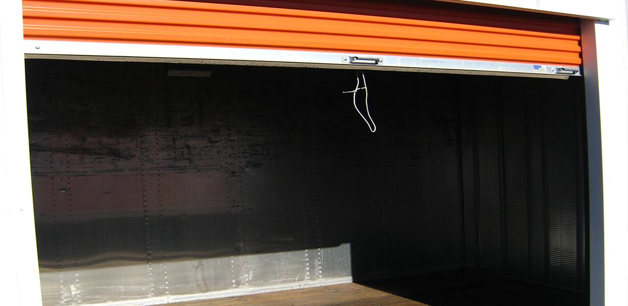 Budget Self Storage Richmond front office